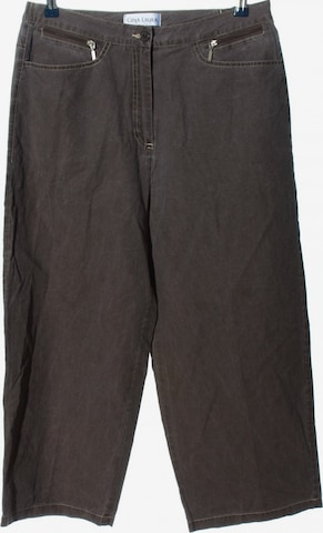 Gina Laura Pants in XL in Brown