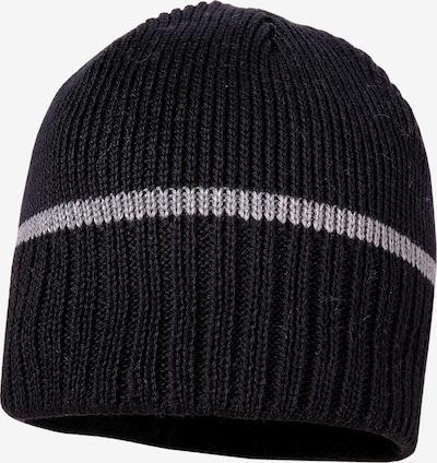 MAXIMO Mütze in grau / schwarz, Produktansicht