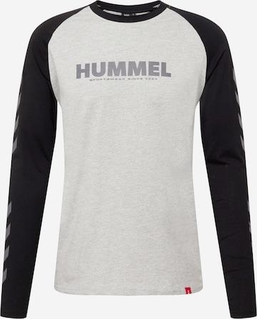 Hummel Sportshirt in Grau
