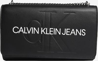 Calvin Klein Jeans Skuldertaske i sort / hvid, Produktvisning