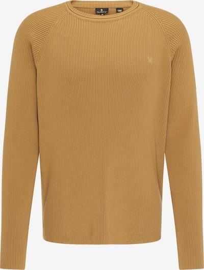 DreiMaster Klassik Pullover in senf, Produktansicht