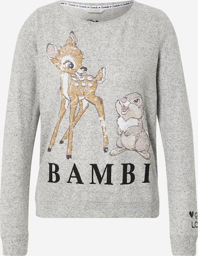 Bluză de molton 'Bambi' Frogbox pe gri amestecat / mai multe culori, Vizualizare produs