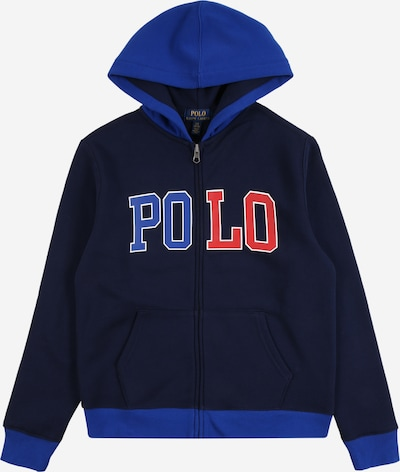 POLO RALPH LAUREN Bluza rozpinana w kolorze niebieski / granatowy / czerwonym, Podgląd produktu