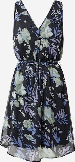 OBJECT Robe 'FIOLA' en bleu / bleu foncé / vert clair / lilas, Vue avec produit