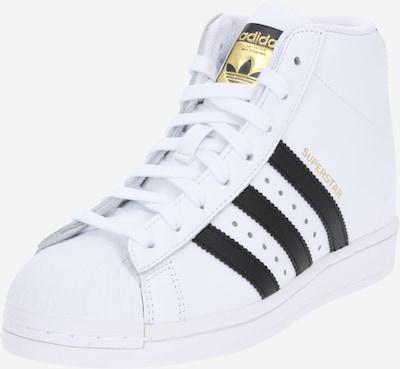 Sneaker înalt 'Superstar Up' ADIDAS ORIGINALS pe negru / alb, Vizualizare produs