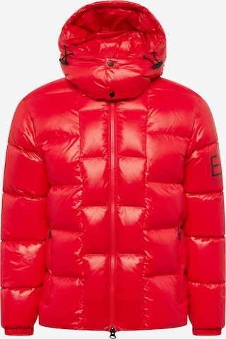 EA7 Emporio Armani Winter jacket in Red
