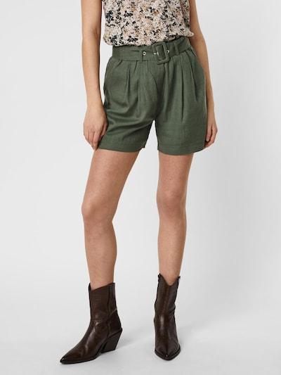 Pantaloni cutați 'Amelia' VERO MODA pe verde închis, Vizualizare model