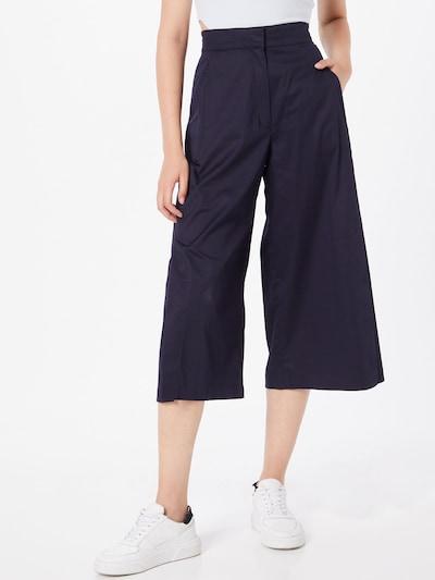 s.Oliver BLACK LABEL Kalhoty - námořnická modř, Model/ka