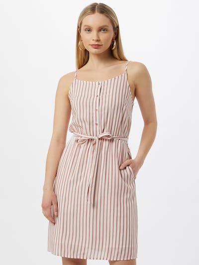 VILA Kleid 'HARPER' in rosé / weiß, Modelansicht