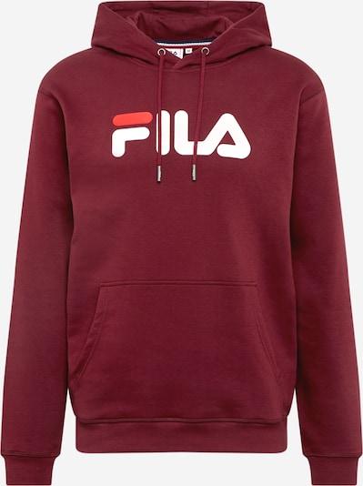 FILA Sportsweatshirt 'Pure' in de kleur Roestbruin / Wit, Productweergave