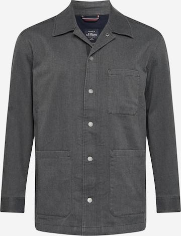 s.Oliver Suit Jacket in Grey
