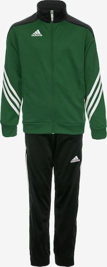 ADIDAS PERFORMANCE Trainingsanzug in grün / schwarz, Produktansicht
