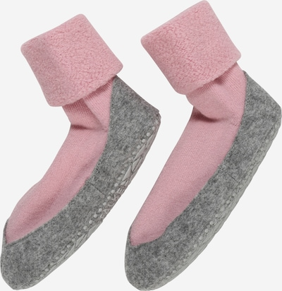 FALKE Hausschuh in graumeliert / rosa, Produktansicht