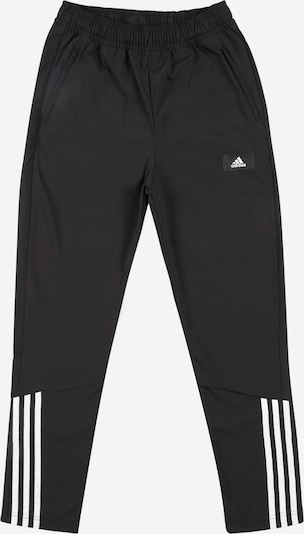 ADIDAS PERFORMANCE Sporta bikses, krāsa - melns / balts, Preces skats