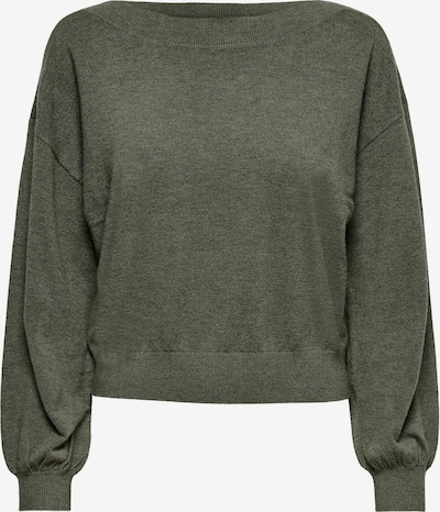 ONLY Pullover 'Cozy' in dunkelgrün, Produktansicht