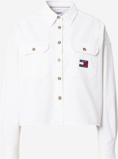 Tommy Jeans Chemisier en bleu marine / rouge / blanc, Vue avec produit