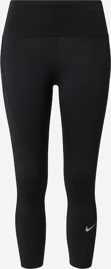 NIKE Sportbroek 'Epic Luxe' in de kleur Grijs / Zwart, Productweergave