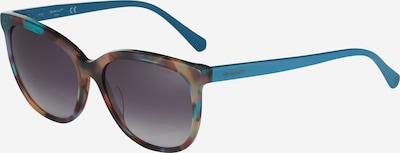 GANT Sunčane naočale u svijetloplava / svijetlosmeđa / tamno smeđa / siva, Pregled proizvoda