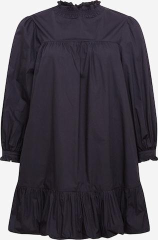 GLAMOROUS CURVE Kleid in Schwarz