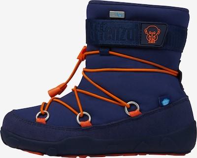 Affenzahn Schneestiefel 'Elefant' in blau, Produktansicht