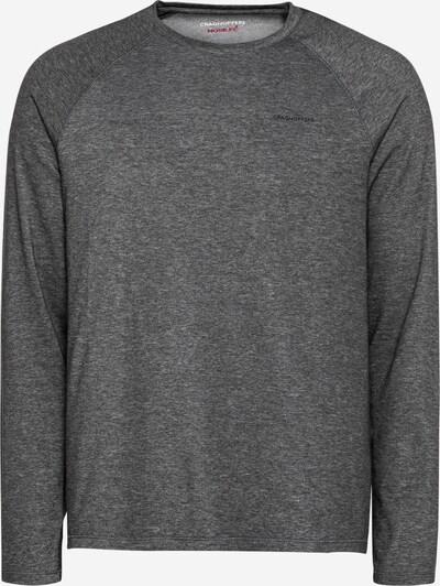 CRAGHOPPERS Sportsweatshirt 'Bayame' in schwarzmeliert, Produktansicht