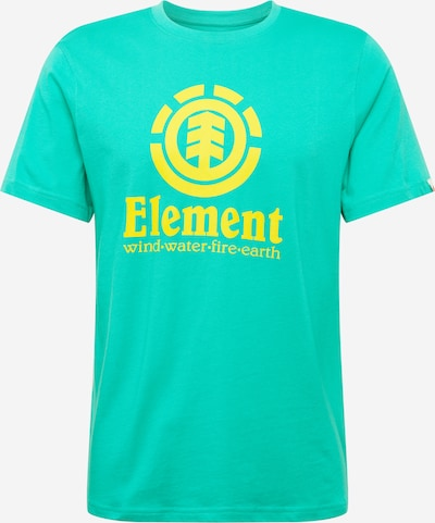 ELEMENT Functioneel shirt in de kleur Geel / Jade groen, Productweergave