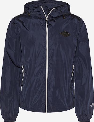 REPLAY Jacke in navy / schwarz / weiß, Produktansicht