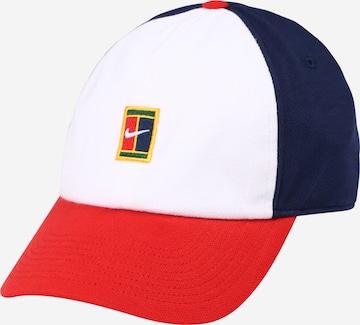 NIKE Spordinokamüts 'Court Heritage86', värv valge