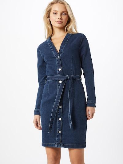 JACQUELINE de YONG Jurk 'Sanna Life' in de kleur Blauw denim, Modelweergave