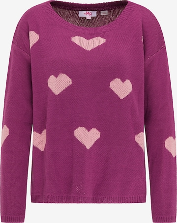 MYMO Sweater in Purple