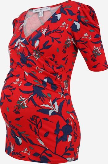 Tricou 'ILIANA' Envie de Fraise pe albastru / verde / mai multe culori / roșu, Vizualizare produs