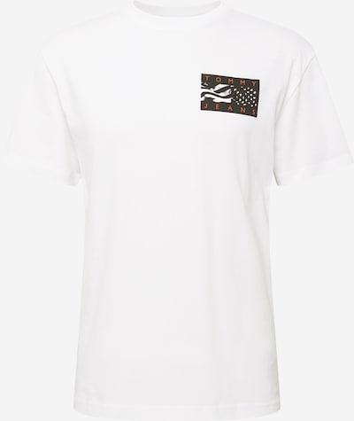 bazaltszürke / korál / fekete / fehér Tommy Jeans Póló, Termék nézet