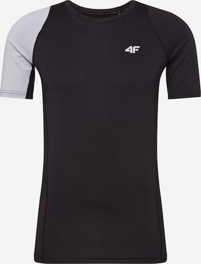 4F Funkcionalna majica | svetlo zelena / črna barva, Prikaz izdelka