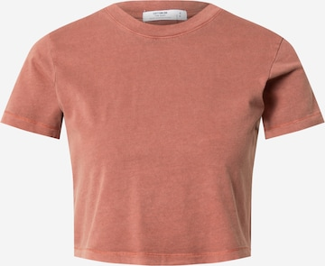 Cotton On Shirt 'THE ONE BABY' in Rood