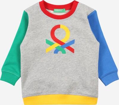 Bluză de molton UNITED COLORS OF BENETTON pe albastru / galben / gri amestecat / verde / roșu, Vizualizare produs