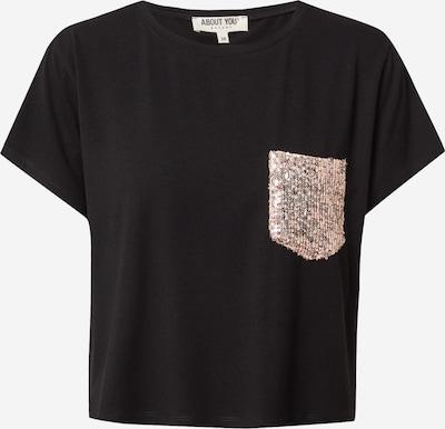 ABOUT YOU Camiseta 'Ines' en negro, Vista del producto