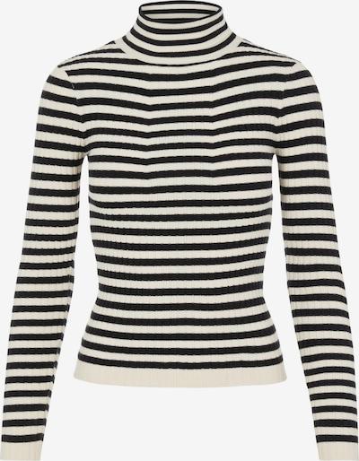 PIECES Džemperis 'CRISTA', krāsa - melns / balts, Preces skats