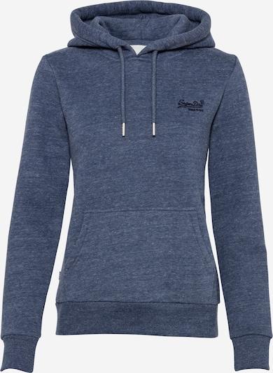 Superdry Sweatshirt in blaumeliert, Produktansicht