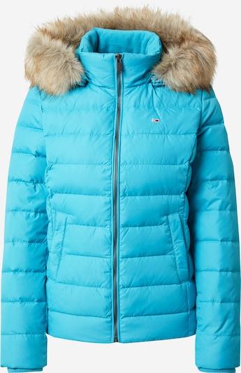 Tommy Jeans Winterjas in de kleur Lichtblauw, Productweergave