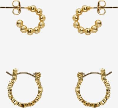 PIECES Uhani 'Kine' | zlata barva, Prikaz izdelka