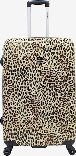 Saxoline Reisegepäck 'Leopard' in gelb, Produktansicht