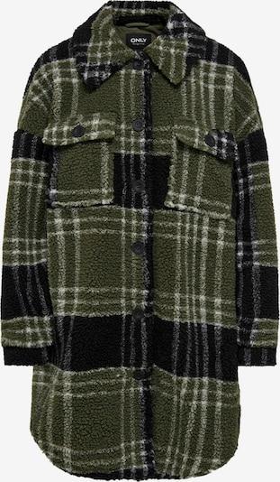 ONLY Přechodná bunda - khaki / černá / bílá, Produkt