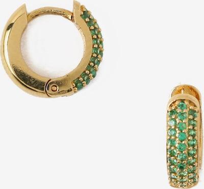 Orecchini 'Emerald' Orelia di colore oro / smeraldo, Visualizzazione prodotti