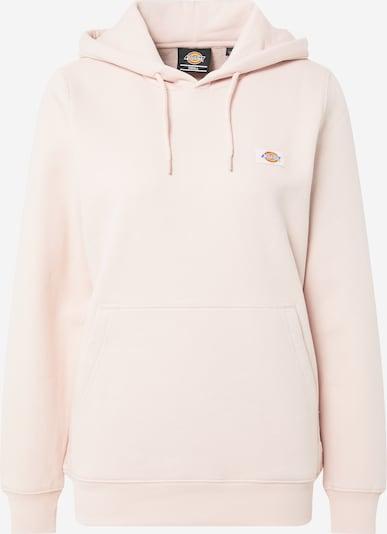DICKIES Majica 'Oakport' | svetlo modra / svetlo oranžna / pastelno roza barva: Frontalni pogled