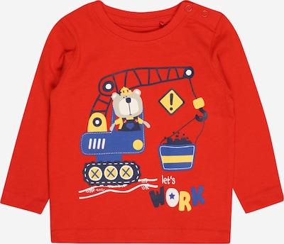 BLUE SEVEN T-Shirt en bleu / bleu marine / jaune / rouge / blanc, Vue avec produit