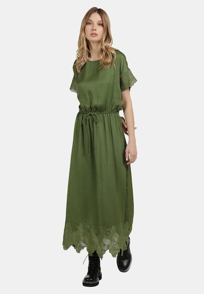 DreiMaster Vintage Kleid in grün, Modelansicht