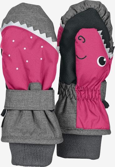 STERNTALER Handschuhe in grau / pink, Produktansicht