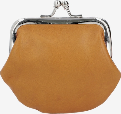 Gusti Leder Bügelbörse in gelb, Produktansicht