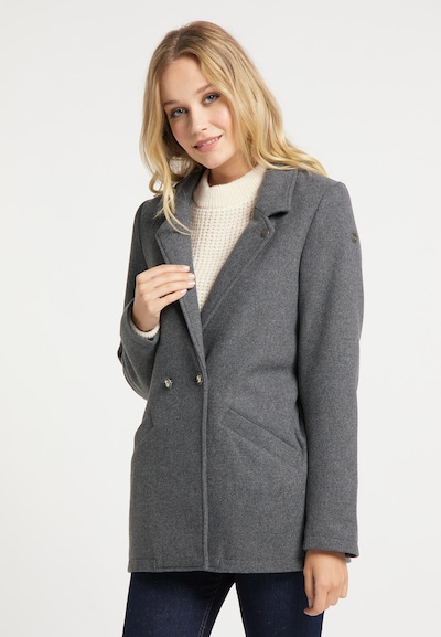 DreiMaster Vintage Blazer in graumeliert, Modelansicht