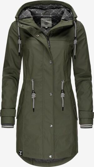 Peak Time Manteau mi-saison 'L60042' en olive, Vue avec produit